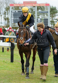 POPAWAY (Immy Robinson) - Race 4 - Ladies Open - The Cottesmore Point-to-point 26/2