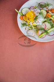 Colourful Summer Salads