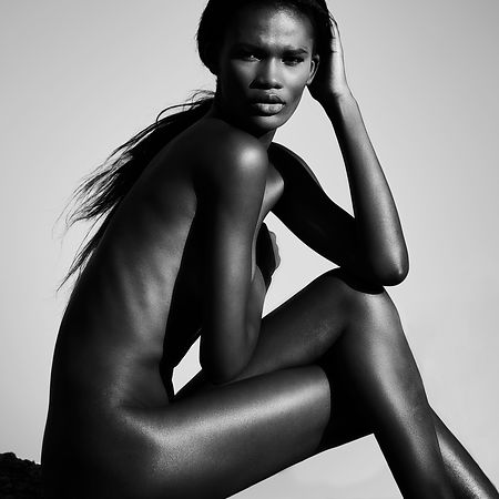 Nude african model | matt leete photography