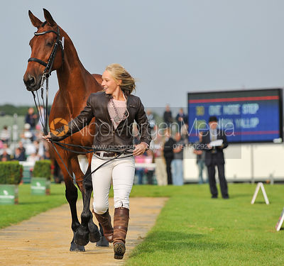 Lauren Yallop and One More Step - 2nd Inspection - Burghley 2010
