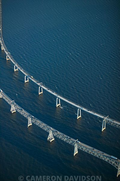 Chesapeake Bay Bridge - Aerial