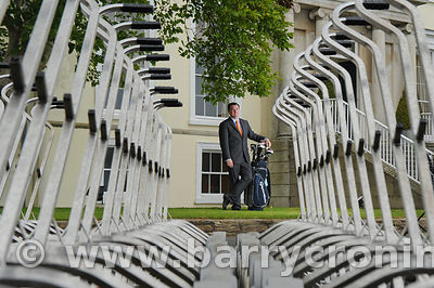 6th July 2011.Richard Collins, CEO of the Druids Glen Hotel and Golf Club, Newtownmountkennedy, County Wicklow.Photo: BARRY C...