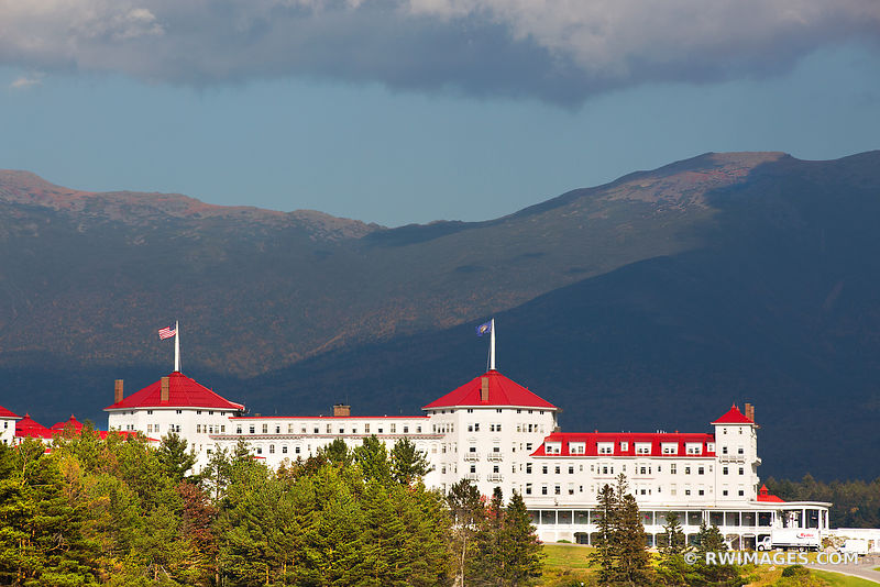 MOUNT WASHINGTON HOTEL WHITE MOUNTAINS NEW HAMPSHIRE