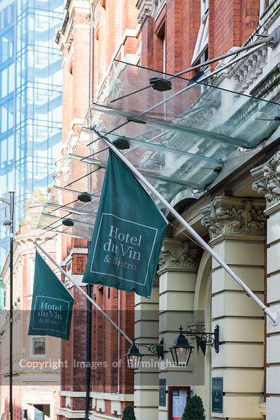 Hotel du Vin hotel and restaurant, Church Street, Birmingham