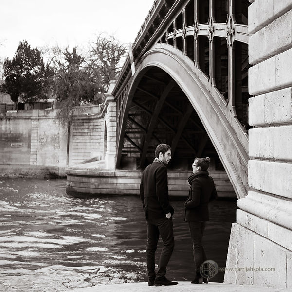 France - Paris (Pont de Sully - Couple I)