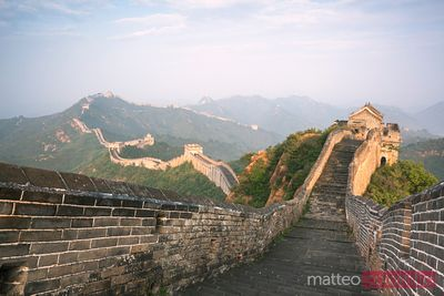 The Great Wall , Jinshanling, China