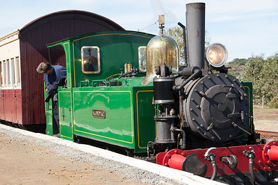 Klondyke steam engine