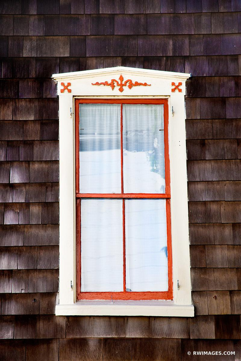 OLD WINDOW OAK BLUFFS MARTHA'S VINEYARD