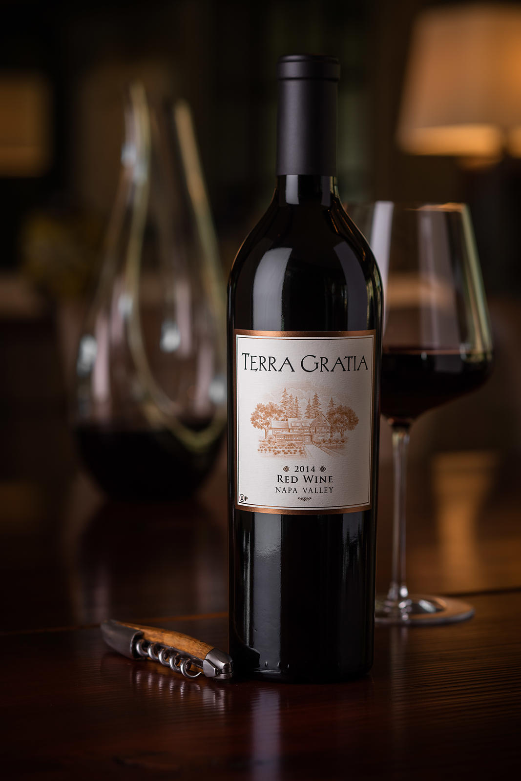 Commercial photography for luxury wine brand in Napa Valley by Jason Tinacci