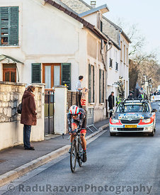 The Cyclist Andreas Klöden- Paris Nice 2013 Prologue in Houilles