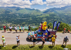 Haribo Vehicle in Pyrenees