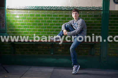 26th September, 2014.Actor Barry Keoghan, who played Wayne in the TV series Love/Hate photographed on Mespil Road, Dublin.Bar...