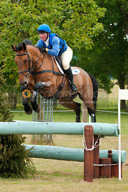 Emilie Chandler and Beeswing, Subaru Houghton International Horse Trials, May 2011
