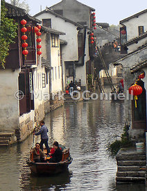 Zhouzhuong water village China 6