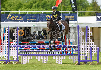 Trudy Johnson and CATCH ME IF U CAN, Fairfax & Favor Rockingham Horse Trials 2018