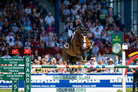 22/07/18, Aachen, Germany, Sport, Equestrian sport CHIO Aachen 2018 - Rolex Grand Prix,  Image shows Meredith MICHAELS-BEERBA...