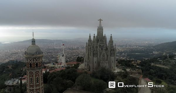 Temple Expiatori del Sagrat Cor is a Roman Catholic church and minor basilica located on the summit of Mount Tibidabo in Barc...