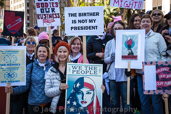 JAN 21 Women's March, LA