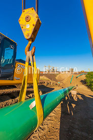 Construction of Gas Pipe