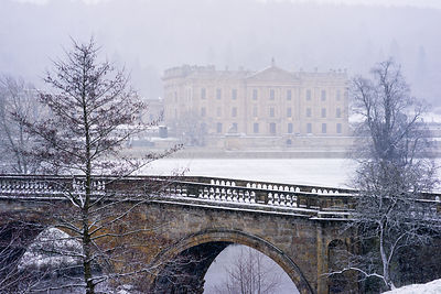 Chatsworth in winter