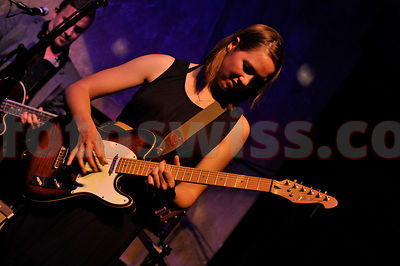 Sophie Hunger unplugged Festival da Jazz- Live at Dracula Club in St.Moritz