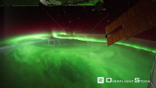 Time-Lapse from ISS over  Indian Ocean Aurora Australis Exp29 17 Sep 2011