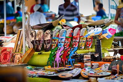 Handmade memories, Saint Paul market place, Reunion Island