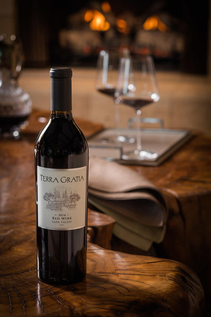 Photography for luxury wine brand in Napa Valley by Jason Tinacci