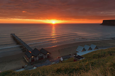 Sunrise at Saltburn