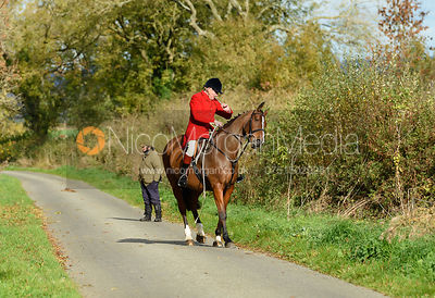 Peter Collins. Quorn Hunt Opening Meet 2018