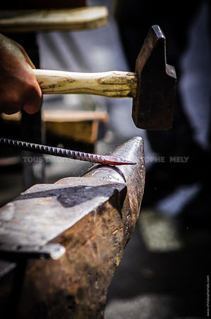 Damascus blacksmith