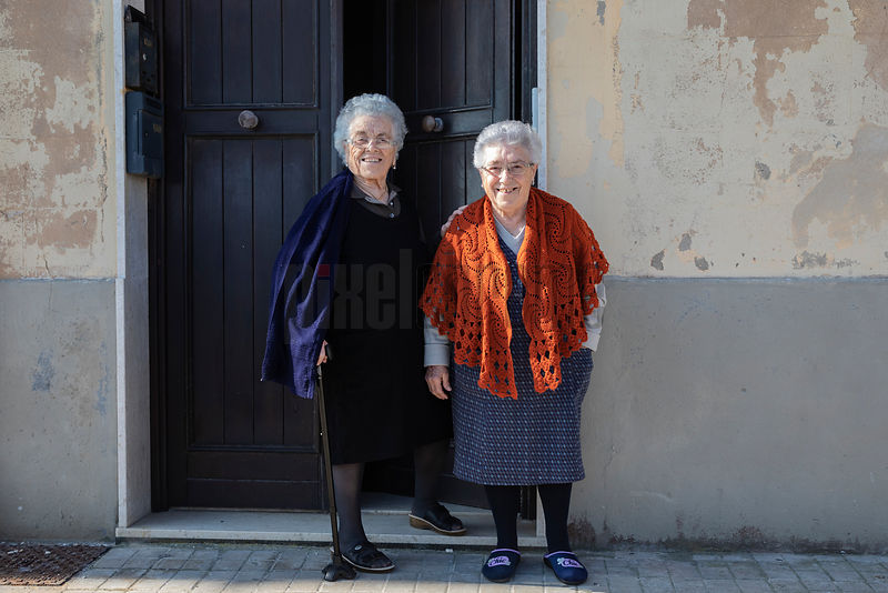 Portrait of Sisters in Trapani