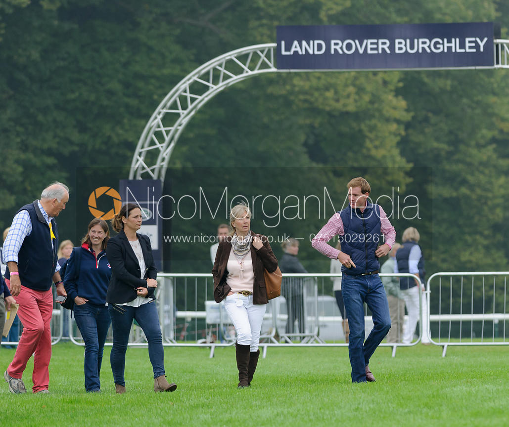 Team French - dressage phase,  Land Rover Burghley Horse Trials, 4th September 2014.