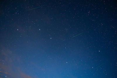Three perseid meteors were photographed in the Finnish countryside during the annual Perseid meteor shower on August 13 2018....