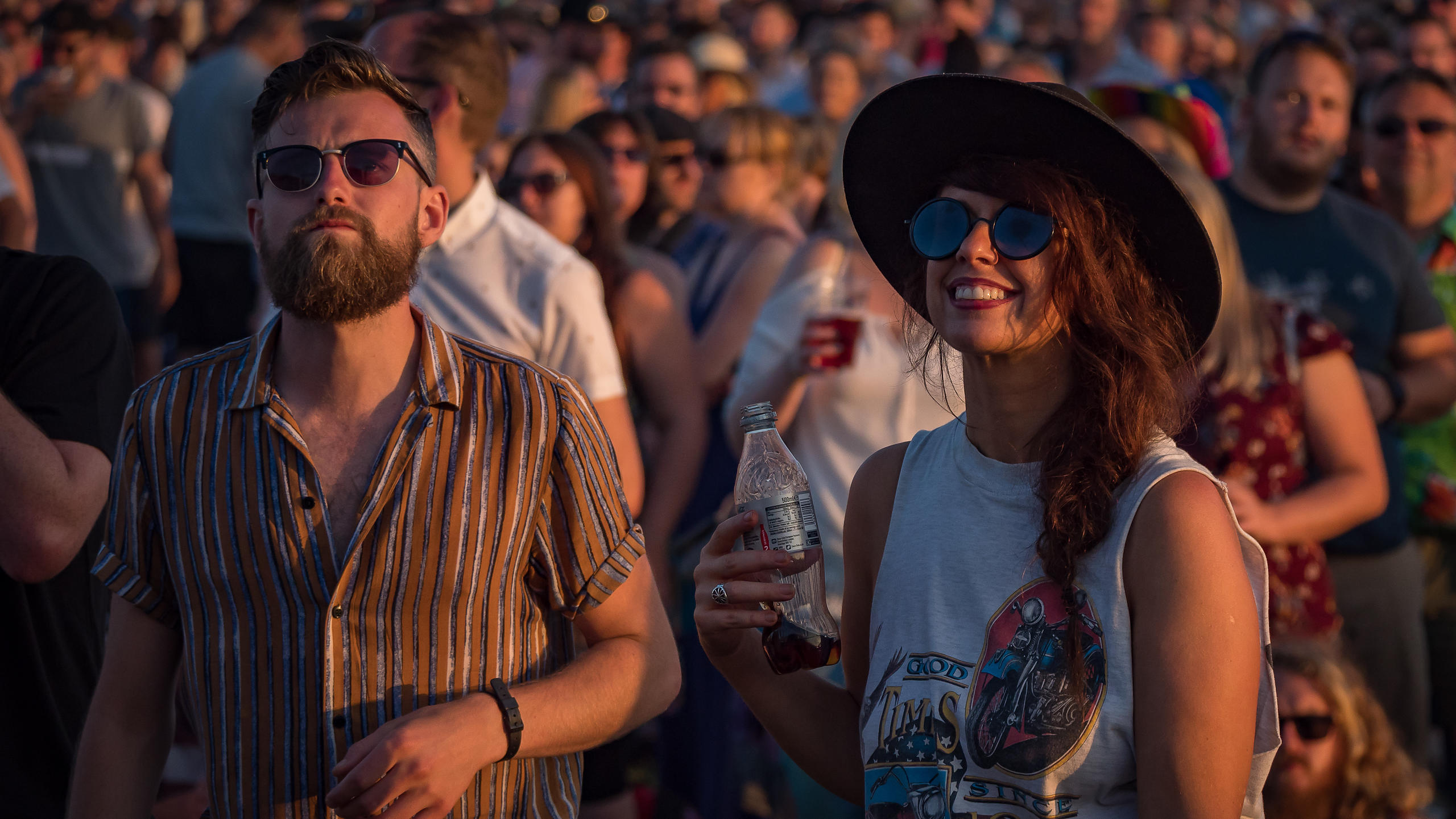 Festival Go-ers at Victorious Festival 2017 Having  a Blast in Beautiful Weather in Portsmouth, Hampshire