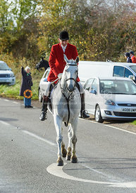 Joss Hanbury. Quorn Hunt Opening Meet 2018