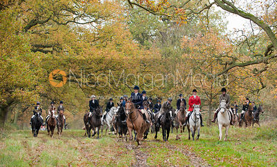 South Wold Hunt at Edenham 18/11