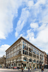 GLASGOW, SCOTLAND – JUNE 03, 2015 : The Ca' D'Oro Building, at the corner of Union Street and Gordon Street in Glasgow, Scotl...
