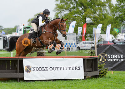 Suzy Smith and ENFANT TERRIBLE C - Rockingham International Horse Trials 2017