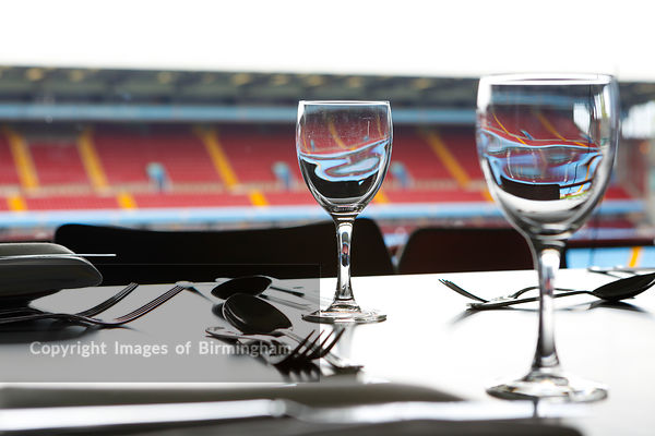 Aston Villa Football Club, Conference and Banqueting facilities. Aston, Birmingham, West Midlands, England, UK