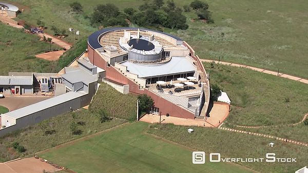 Aerial shot over the Cradle of Humankind Johannesburg Gauteng South Africa
