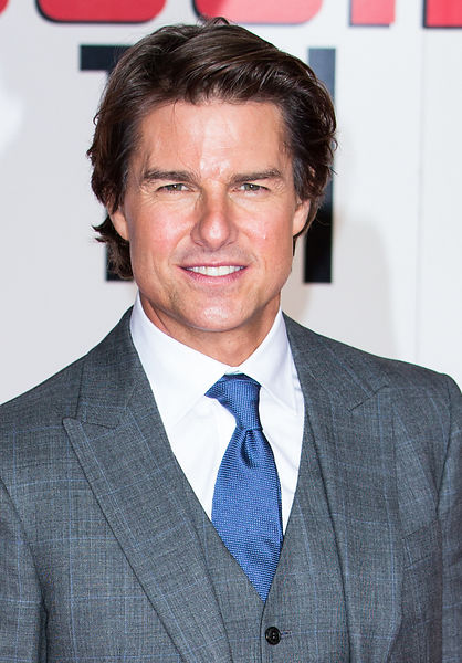 Tom Cruise arrives at the exclusive screening event of Mission Impossible: Rogue Nation. 25th July 2015.