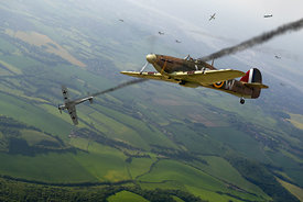Battle of Britain dogfight