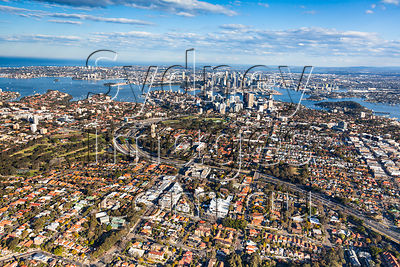 Cammeray to Sydney City