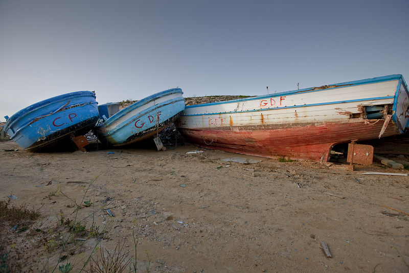 Wrecked Dreams Lampedusa