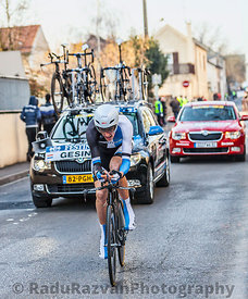 The Cyclist Robert Gesink- Paris Nice 2013 Prologue in Houilles