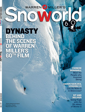 Warren Miller Entertainment. SnoWorld Magazine.