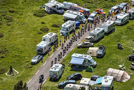 The Peloton - Tour de France 2013