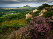 Roseberry Topping from Cockshaw Hill