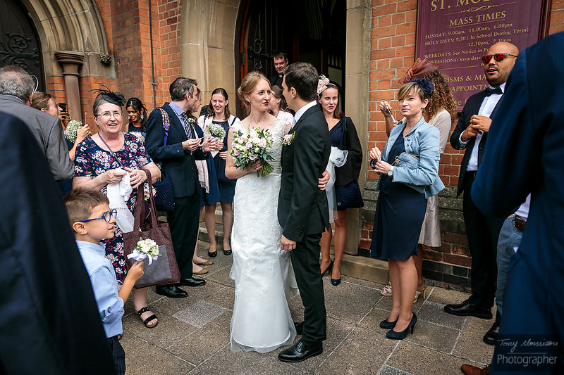 Wedding at St Johns House, Lichfield, Staffordshire, UK
